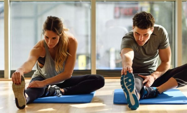 Squat exercise fitness indonesia