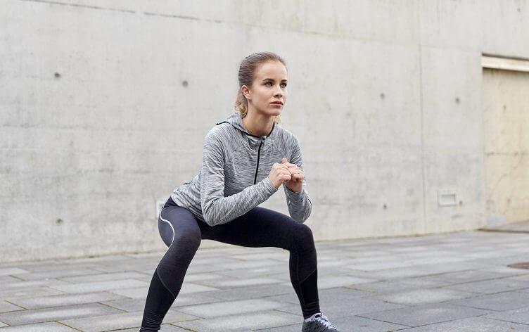 teknik squat yang benar